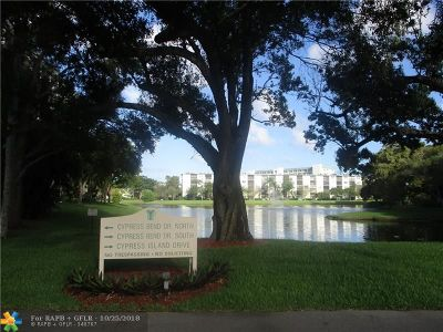 Pompano Beach FL Condo/Townhouse For Sale: $155,000