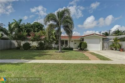 Fort Lauderdale Single Family Home For Sale: 5961 NE 22nd Ter