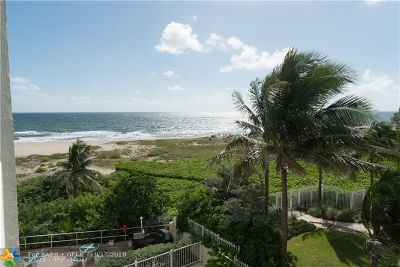 Pompano Beach Condo/Townhouse For Sale: 710 N Ocean Blvd #310