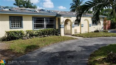 Miami Gardens Single Family Home For Sale: 3731 NW 207th St