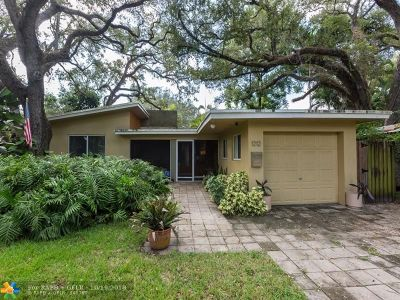 Fort Lauderdale Single Family Home For Sale: 1212 SW 18th St