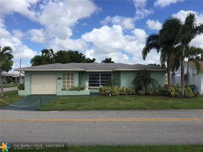 Tamarac Single Family Home For Sale: 4723 NW 44th St