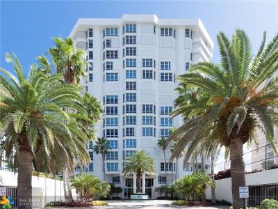Lauderdale By The Sea Condo/Townhouse For Sale: 1440 S Ocean Blvd #3D