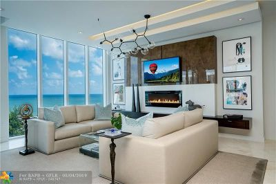 Fort Lauderdale Condo/Townhouse For Sale: 2821 N Ocean Blvd #PH3S
