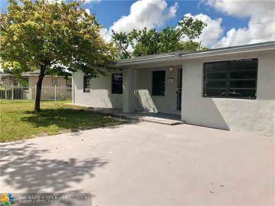 Miami Single Family Home For Sale: 14010 Van Buren St