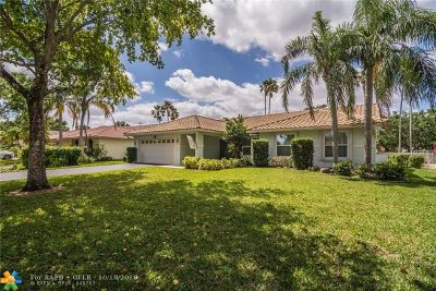 Coral Springs Single Family Home For Sale: 4918 NW 105th Dr
