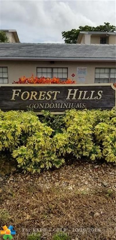 Coral Springs FL Condo/Townhouse For Sale: $120,000