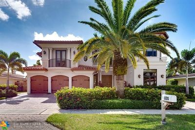 Boca Raton Single Family Home For Sale: 800 NE 70th St