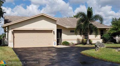 Tamarac Single Family Home For Sale: 10507 NW 70 Street