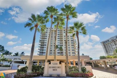 Lauderdale By The Sea Condo/Townhouse For Sale: 5200 N Ocean Blvd #1504E