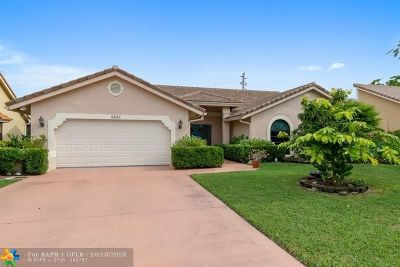 Tamarac Single Family Home For Sale: 8531 NW 80th St