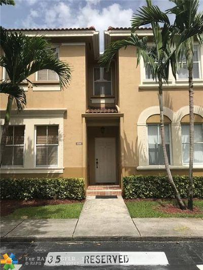 Miramar Condo/Townhouse For Sale: 4146 SW 158th Ave #35