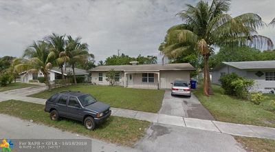 Pompano Beach FL Single Family Home For Sale: $239,000