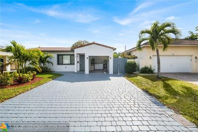 Wilton Manors Single Family Home Backup Contract-Call LA: 28 NE 26th St