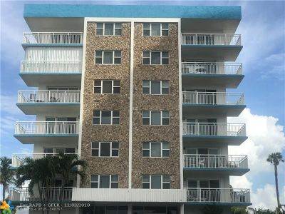 Pompano Beach Condo/Townhouse For Sale: 1770 S Ocean Blvd #308