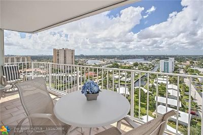Pompano Beach Condo/Townhouse For Sale: 1010 S Ocean Blvd #1509