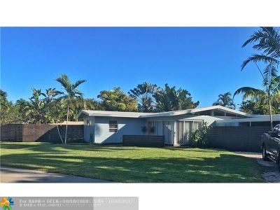 Fort Lauderdale Single Family Home For Sale: 720 NE 17th Ct