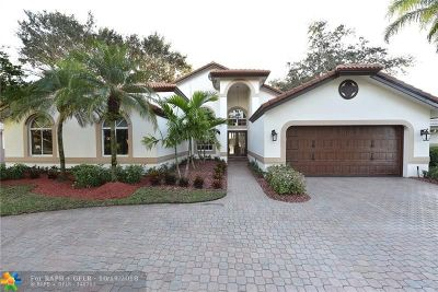 Coral Springs Single Family Home For Sale: 1862 Classic Dr