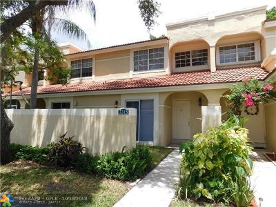 Deerfield Beach Condo/Townhouse For Sale: 3315 Deer Creek Alba Way #3315