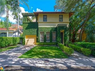 Coral Gables Single Family Home For Sale: 3411 Anderson Rd