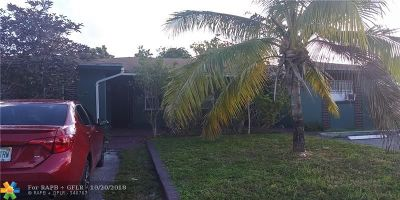 Fort Lauderdale Multi Family Home For Sale: 1450 NW 20th Ct