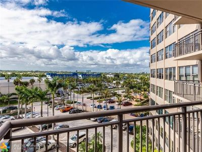 Fort Lauderdale Condo/Townhouse For Sale: 3800 Galt Ocean Dr #612