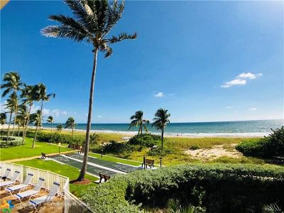 Lauderdale By The Sea Condo/Townhouse For Sale: 5200 N Ocean Blvd #312B