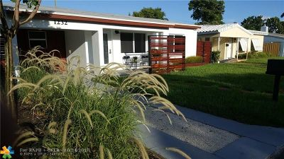 Fort Lauderdale Single Family Home For Sale: 1232 NE 13th Ave