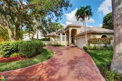 Coral Springs Single Family Home For Sale: 12131 NW 10th St