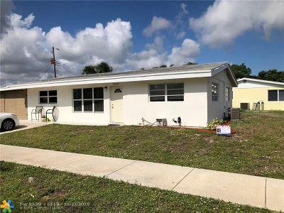Pompano Beach Single Family Home For Sale: 1121 NE 42nd St