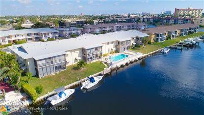 Pompano Beach Condo/Townhouse For Sale: 708 SE 7th Ave #13