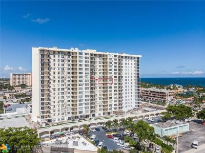 Fort Lauderdale Condo/Townhouse For Sale: 3015 N Ocean Bl #9I