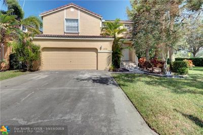 Coral Springs FL Single Family Home For Sale: $345,000