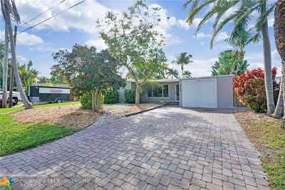 Fort Lauderdale Single Family Home For Sale: 2549 Flamingo Ln