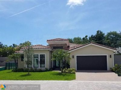 Fort Lauderdale Single Family Home For Sale: 5644 Brookfield Cir
