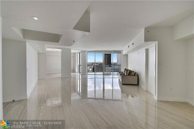 Fort Lauderdale Condo/Townhouse For Sale: 333 Las Olas Way #1804
