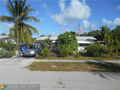 Pompano Beach Single Family Home For Sale: 2710 NE 9th Ave
