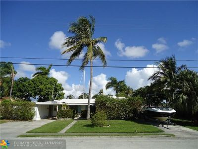 Fort Lauderdale Single Family Home For Sale: 1001 Guava Isle