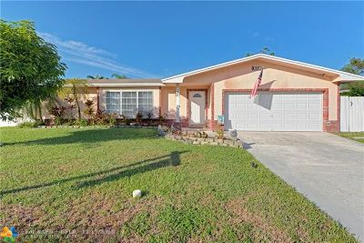 Margate Single Family Home For Sale: 7925 NW 8th Ct