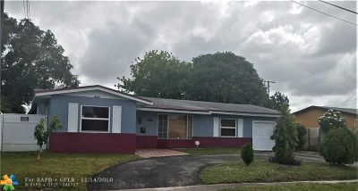 Lauderdale Lakes Single Family Home For Sale: 3574 NW 23rd St