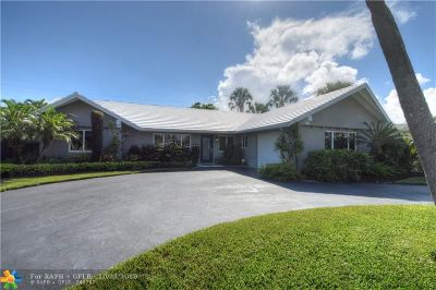 Fort Lauderdale Single Family Home For Sale: 1920 NE 57th St