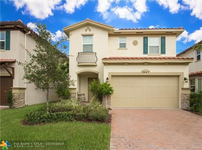 Davie Single Family Home For Sale: 6447 Osprey Landing Street