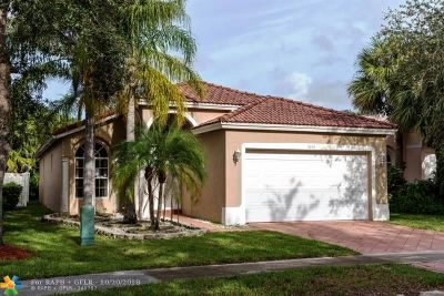 Coral Springs FL Single Family Home For Sale: $339,900