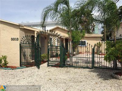 Pompano Beach Multi Family Home For Sale: 3313 SE 3rd St