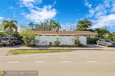 Wilton Manors Multi Family Home For Sale: 2019 NE 15th Ave