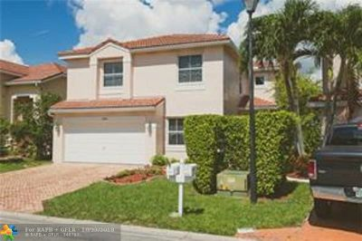 Coral Springs Single Family Home For Sale: 3462 NW 110th Way