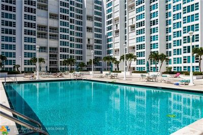 Condo/Townhouse For Sale: 1620 S Ocean Blvd #12E