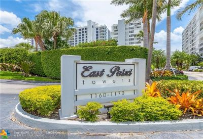 Broward County , Palm Beach County Condo/Townhouse For Sale: 1170 N Federal Hwy #405