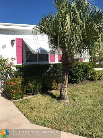 Jupiter Single Family Home For Sale: 400 N Highway A1a Unit 67