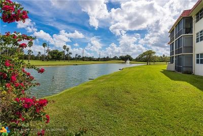 Pembroke Pines Condo/Townhouse For Sale: 9220 S Hollybrook Lake Dr #102